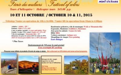 Féerie des couleurs – 10 et 11 Octobre