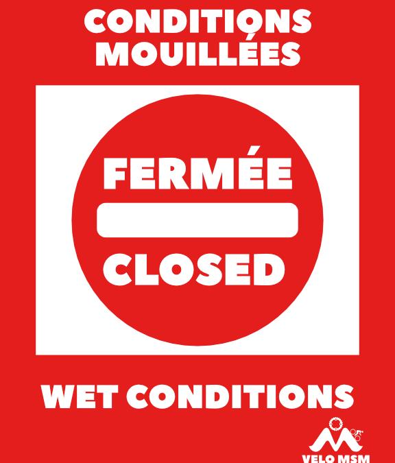 Conditions mouillées